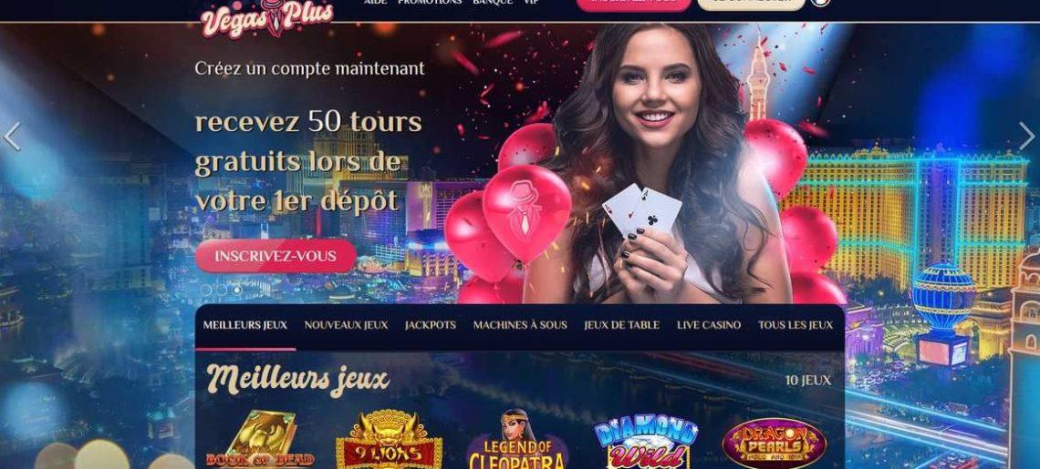 Casino vegasplus : fait-il de bonnes impressions? Notre avis